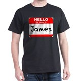 Hello my name is James T-Shirt