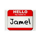 Hello my name is Jamel Rectangle Magnet