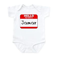 Hello my name is Jamar Infant Bodysuit