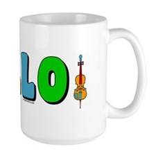 Colorful Cello Mug