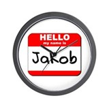 Hello my name is Jakob Wall Clock