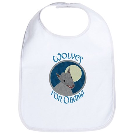 Wolves for Obama Bib