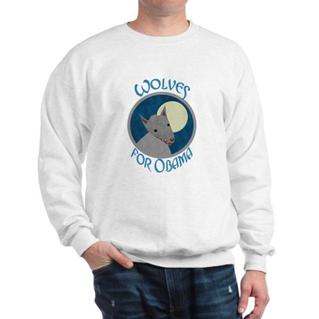 Wolves for Obama Sweatshirt