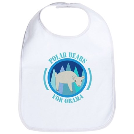 Polar Bears for Obama Bib