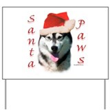 Malamute Paws Yard Sign