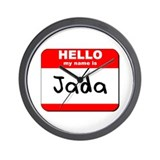 Hello my name is Jada Wall Clock