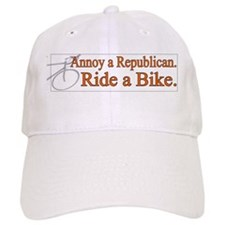 Annoy a Republican. Ride A Bi Baseball Cap
