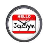 Hello my name is Jaclyn Wall Clock