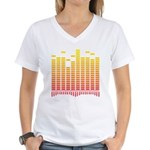 Equalizer Women's V-Neck T-Shirt