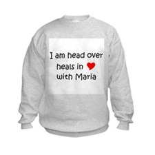 Cute I heart maria Sweatshirt