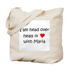 Cute I heart maria Tote Bag