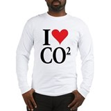 I Love co2 Long Sleeve Tee