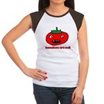 Jesus hates Tomatoes Women's Cap Sleeve T-Shirt