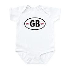 GB Great Britain Euro Style Infant Bodysuit