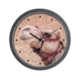 Egyptian Camel Photo Wall Clock