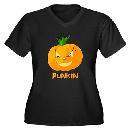 Punkin Plus Size V-Neck Shirt