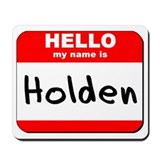 Hello my name is Holden Mousepad