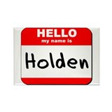 Hello my name is Holden Rectangle Magnet (10 pack)