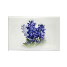 Unique Bluebonnet Rectangle Magnet (10 pack)
