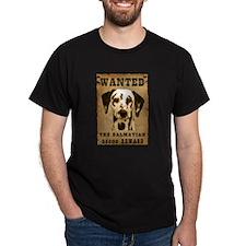 """Wanted"" Dalmatian T-Shirt"