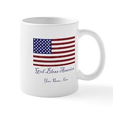 God Bless America Personalize Mug Mugs