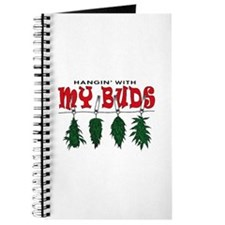 Weed Buds Hanging Journal