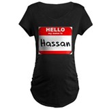 Hello my name is Hassan T-Shirt