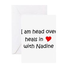 Nadine Greeting Card