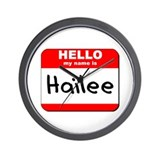 Hello my name is Hailee Wall Clock