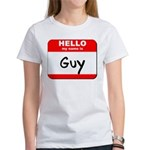 Hello my name is Guy Women's T-Shirt