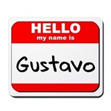 Hello my name is Gustavo Mousepad