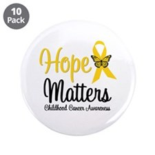 "HopeMattersChildCancer 3.5"" Button (10 pack)"