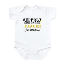 Support Child Cancer Infant Bodysuit