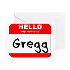 Hello my name is Gregg Greeting Cards (Pk of 20)
