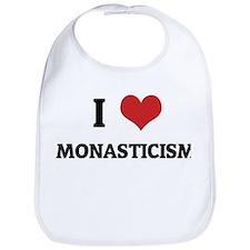 I Love Monasticism Bib
