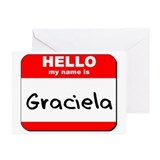 Hello my name is Graciela Greeting Cards (Pk of 10