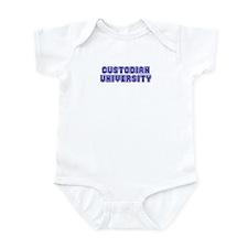 Custodian University Infant Bodysuit