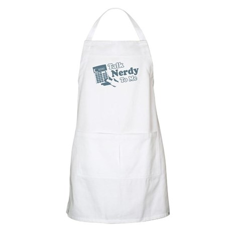 Talk Nerdy To Me BBQ Apron