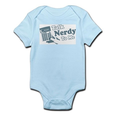 Talk Nerdy To Me Infant Creeper