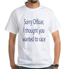 Sorry Officer Shirt