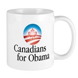 Canadians For Obama Mug