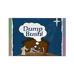 Baby Jesus Says Dump Bush Magnet