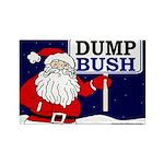 Santa Claus Says Dump Bush Magnet