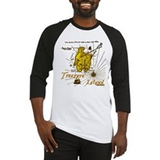 Gold Treasure Island Baseball Jersey