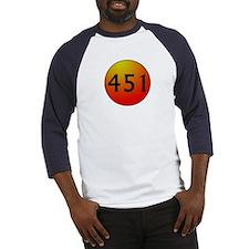 451 Fahrenheit Baseball Jersey