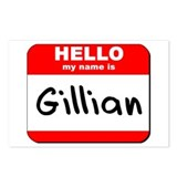 Hello my name is Gillian Postcards (Package of 8)