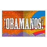 ¡Obamanos! Rectangle Sticker 10 pk)