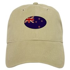 New Zealand Flag Baseball Cap