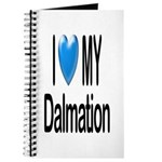 I Love My Dalmation Journal