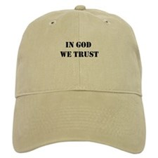 In God We Trust Baseball Baseball Cap